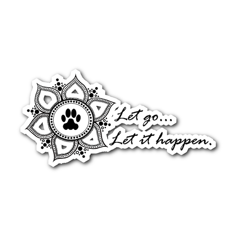 Lotus Let Go... Decal