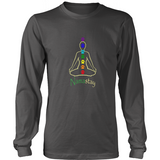 Ladies Namastay Dark Long Sleeve