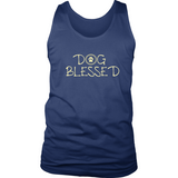 Men's Dog Blessed Dark Tank