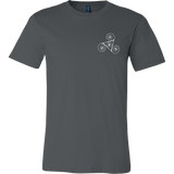 Men's Small Paw Triskelion Dark T-shirt