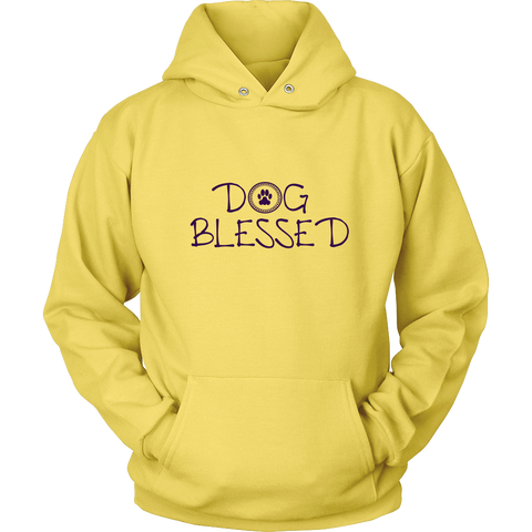 Men's Dog Blessed Hoodie