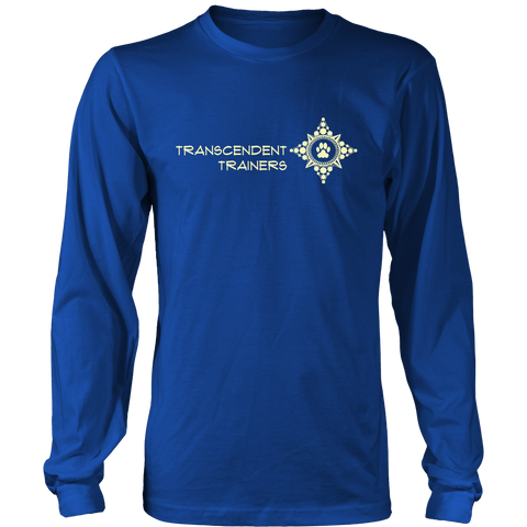 Men's Dark Transcendent Trainers Long Sleeve Shirt