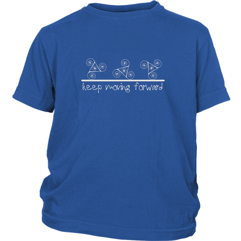 Kids Keep Moving Forward Tee