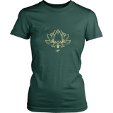 Ladies Paw Lotus 2016 Dark Tee