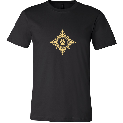 Paw Compass Rose Dark Tee