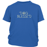 Boy's Dog Blessed Dark Tee