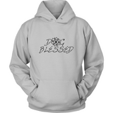 Ladies Dog Blessed Hoodie