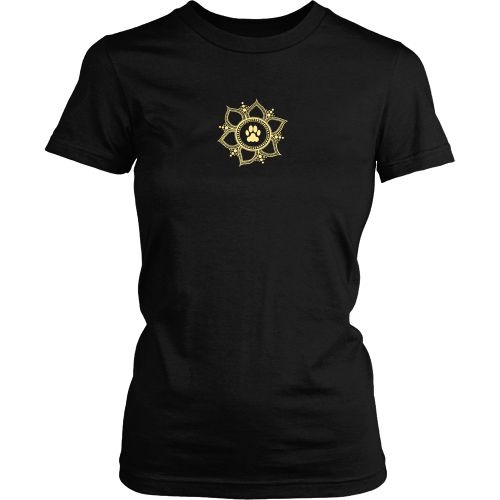 Small Paw Lotus 2015 Dark t-shirt