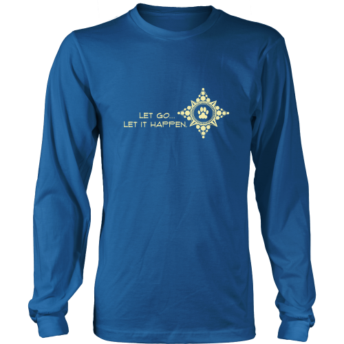 Men's Let Go...Let it Happen Dark Long Sleeve