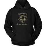 Ladies Remember Your Reason Dark Hoodie