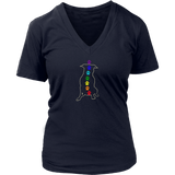 Chakra Pitbull Ladies V-neck