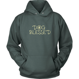 Men's Dog Blessed Dark Hoodie
