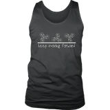 Men's Keep Moving Forward Dark Tank