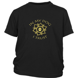 In My Dog I Trust Kid's Dark Tee
