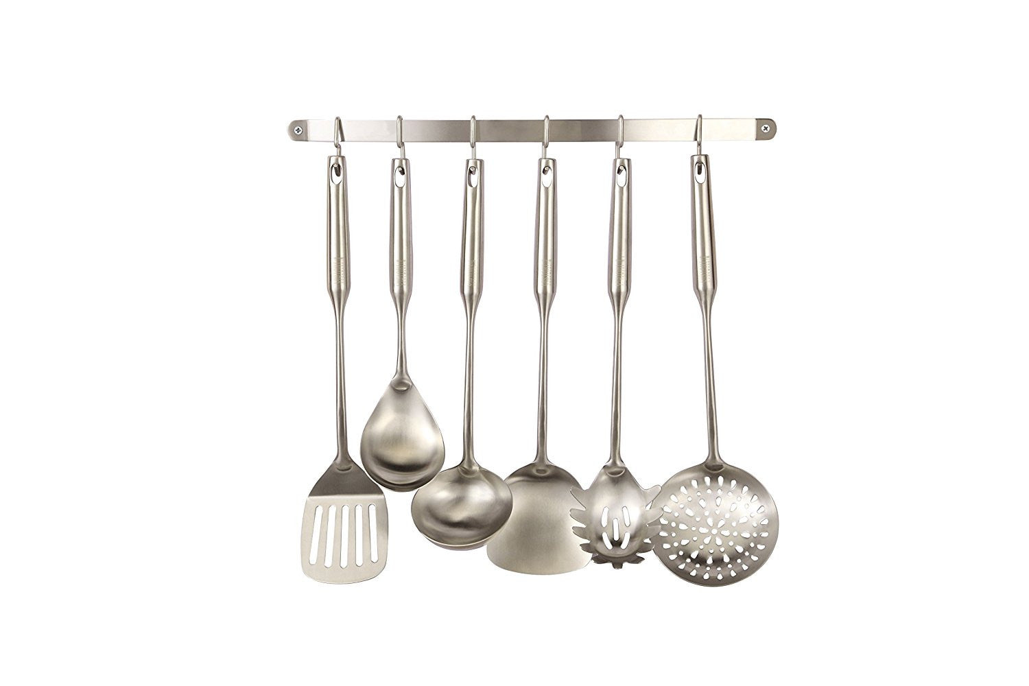 Pro Chef Kitchen Tools Stainless Steel Utensil Hanging