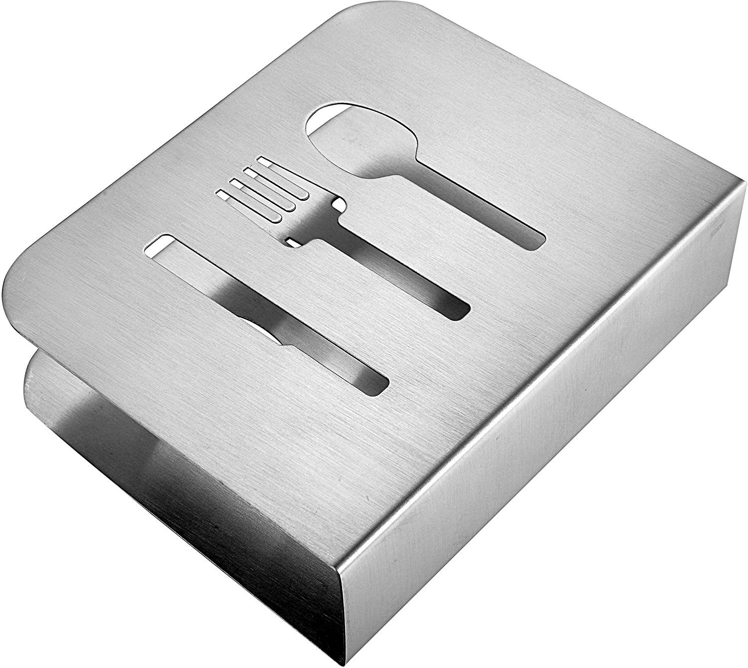 Pro Chef Kitchen Tools Stainless Steel Modern Napkin Holder Serviett