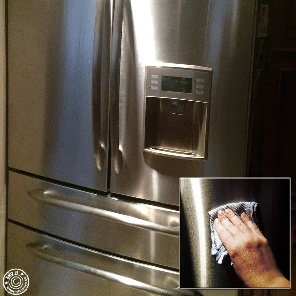 ... Microfiber Cleaning Cloth   Household Wipes And Cloths   Polish Clean  Stainless Steel Sinks   Streak