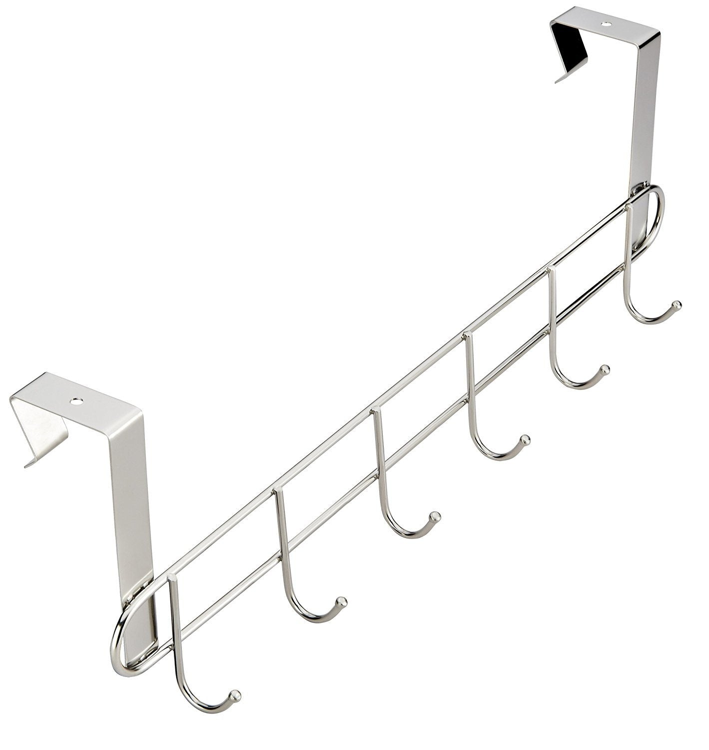 Over The Door Hooks 6 Hook Stainless Steel (NEW) - Pro Chef Kitchen Tools ...