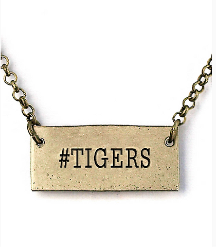 #Tigers necklace
