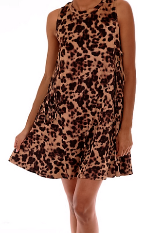 Animal Instincts Dress with Fringe