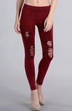 Vintage Modal Destroyed Jeggings (2 Colors Available)