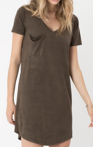 Z Supply Suede Dress
