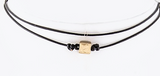 Metal Charm Choker (3 Colors Available)