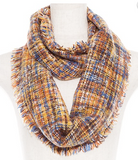 Plaid Infinity Scarves (2 Colors Available)