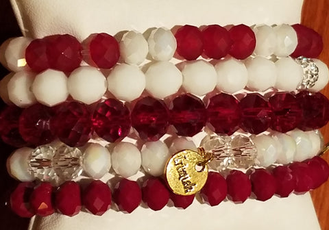 Erimish Game Day Collection (Maroon & White)