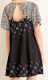 Florals on Frenchman Dress