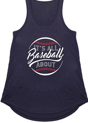 All About Baseball Tank (Plus)