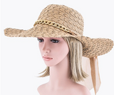 Chain & Lace Hat (2 Colors Available)