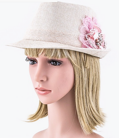 Fedora with Flower