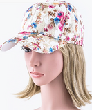 Floral Cap (2 Colors Available)