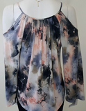 Watercolors for Whitney Top by Veronica M