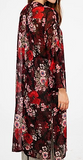 Be fancy in floral duster