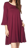 Bryanne in Burgundy Dress