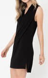 Black Sky on Baronne Dress