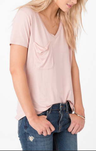 The Shimmer Pocket Tee