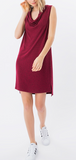 Cowl neck Casual Dress