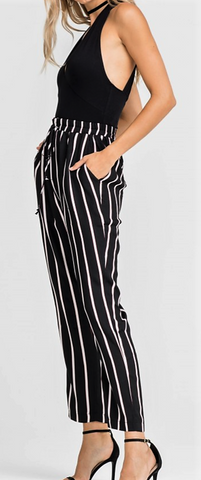 Looking SHARP in Stripes Pant