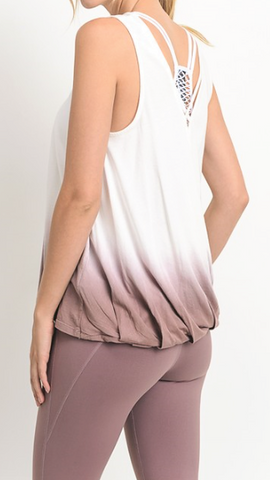 Olivia in Ombre Top