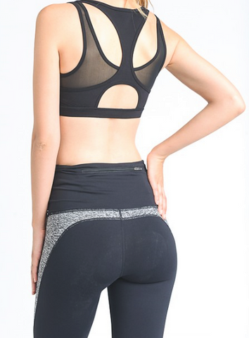 We Mesh Together Sports Bra