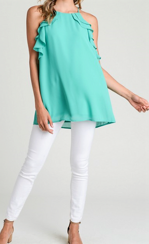 Emerald City Top