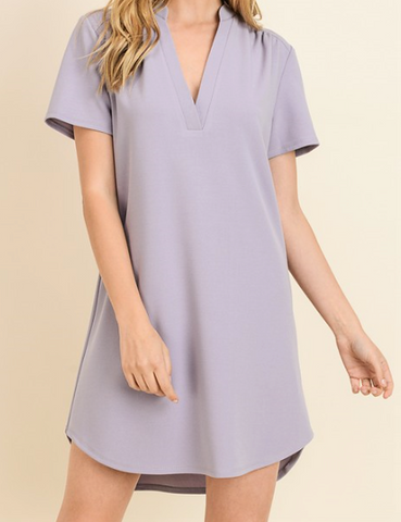 Classicly Purple Dress