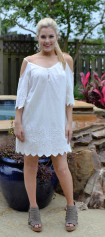 """Eyes on Eyelet"" dress"