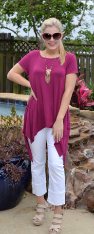 Tunic in Berry