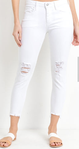The Best White Skinnies Ever