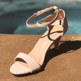 Neutral Heel with ankle strap
