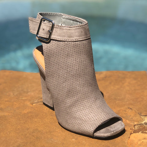 Go with the Grey Bootie